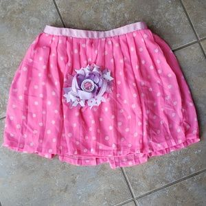 Pink Skirt and Matching bow